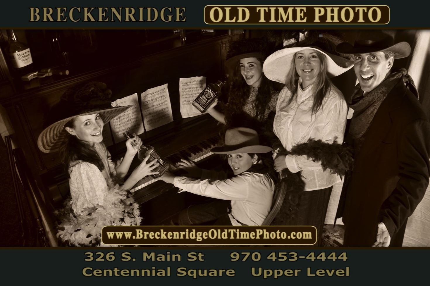 Breckenridge Old Time Photo